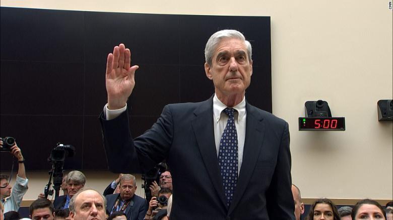Robert Mueller on Capitol Hill - July 24, 2019