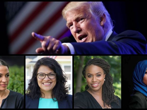 Trump's White Supremacist Attack On Freshmen Congresswomen