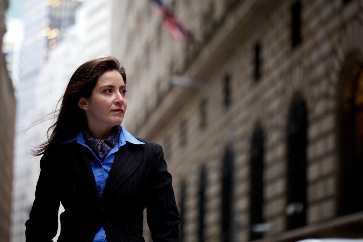 Carmen Segarra, a former bank examiner for the New York Federal Reserve (Nabil Rahman)
