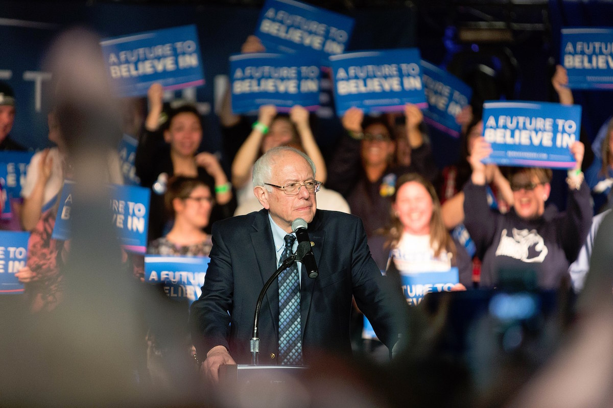 Bernie Sanders rally in Traverse City, Michigan March 4, 2016 (Todd Church/Creative Commons)