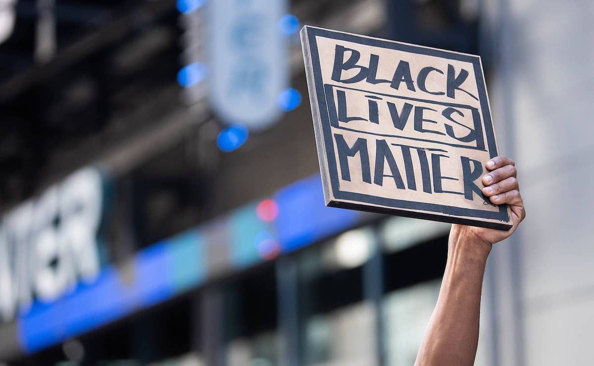 Black Lives Matter Protest Times Square New York City – June 7, 2020. (Anthony Quintano/Creative Commons)