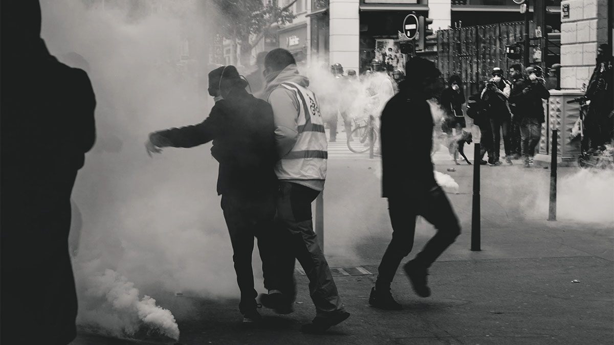 Yellow Vest protests in Lyon, France (Unsplash)