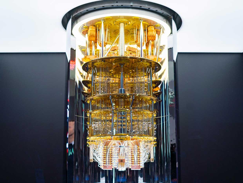 A quantum computer (IBM)