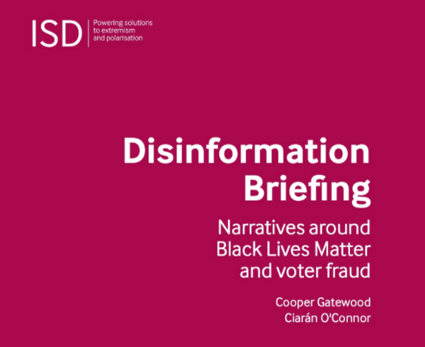 ISD Disinformation Briefing