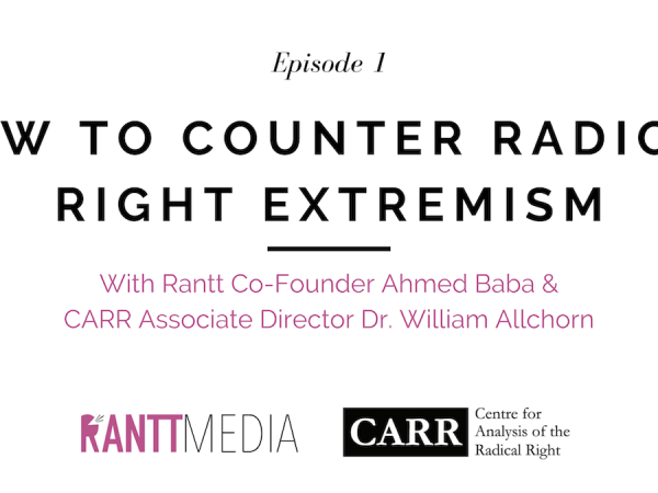 How To Counter Radical Right Extremism