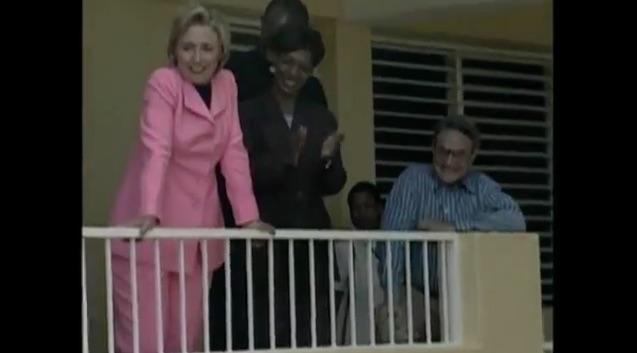 Hilary Clinton and George Soros