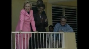 Hilary Clinton and George Soros