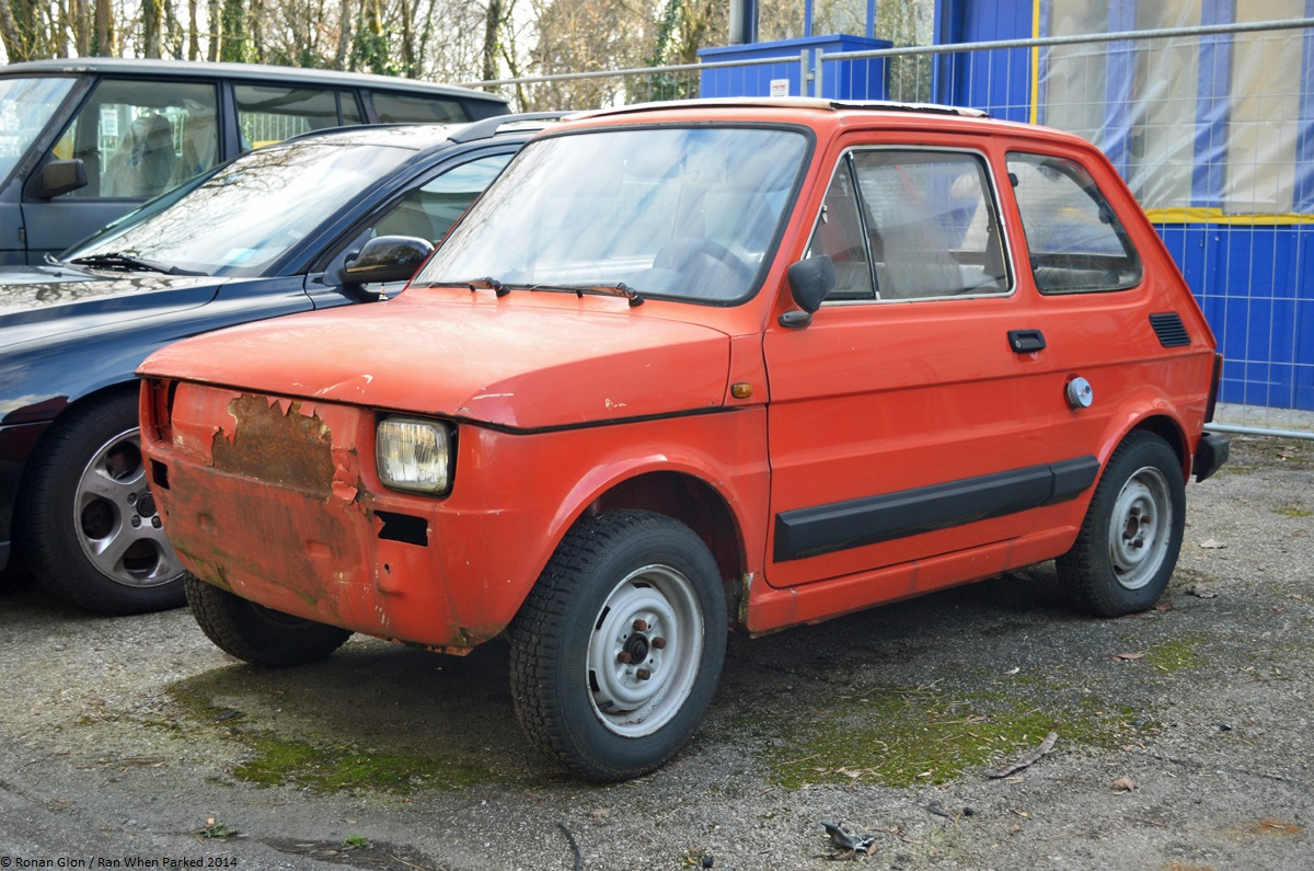 Car Lot Find Fiat 126 Bambino 650  Ran When Parked