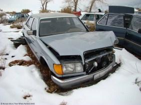 ranwhenparked-utah-junkyard-mercedes-w126-2
