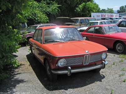 BMW 1600 rust in peace