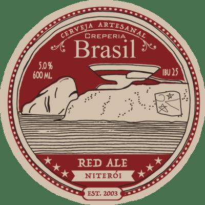 rotulo cerveja artesanal Red Ale niterói