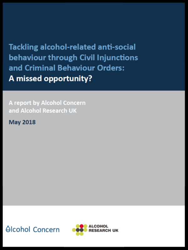 Tackling alcoholrelated antisocial behaviour new powers