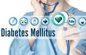 Picture showing Diabetes Mellitus Logo
