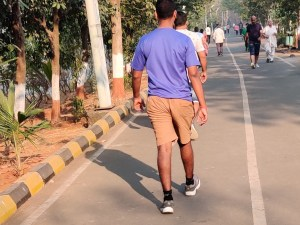 Brisk Walking for Good Health