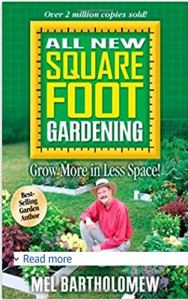 All new squarefoot gardening book