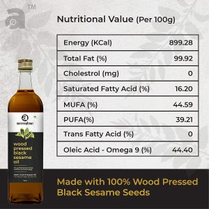 Sesame oil nutritional facts