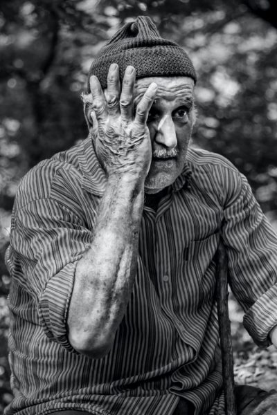 A person with dementia