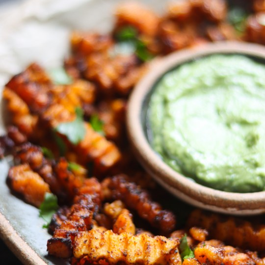 Butternut Squash Masala Fries