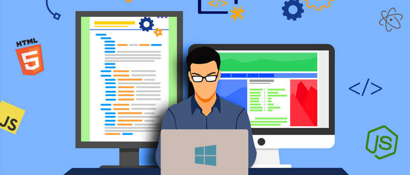 Desarrollo web frontend en Windows