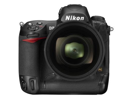 Nikon D3 (front)