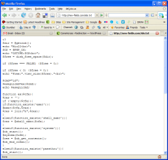 SQL injection hacker - malicious code