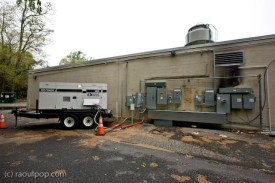 Generator and electrical panels