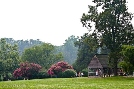 The grounds of Mount Vernon