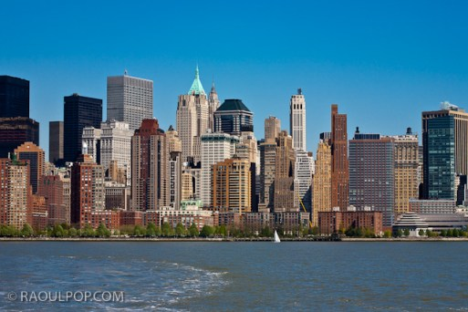 Manhattan skyline, Manhattan, New York, USA.