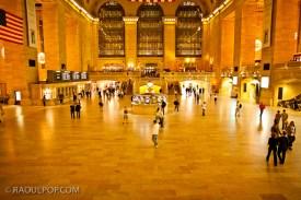 Interior, Grand Central Station, at night. Manhattan, New York, USA.