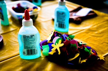 Glue and knick-knacks
