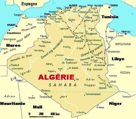 algerie-carte