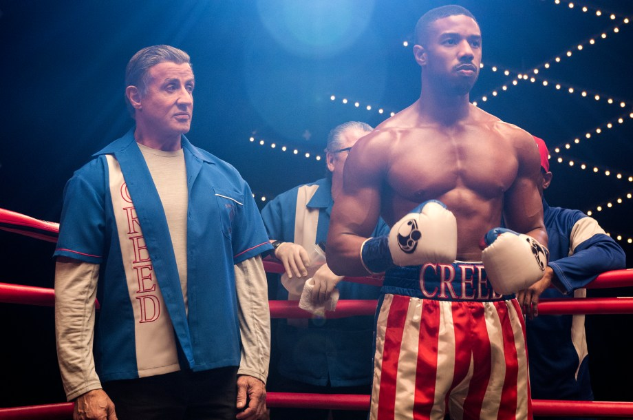 Sylvester Stallone stars as Rocky Balboa and Michael B. Jordan as Adonis Creed and in CREED II, a Metro Goldwyn Mayer Pictures and Warner Bros. Pictures film. Credit: Barry Wetcher / Metro Goldwyn Mayer Pictures / Warner Bros. Pictures © 2018 Metro-Goldwyn-Mayer Pictures Inc. and Warner Bros. Entertainment Inc. All Rights Reserved.