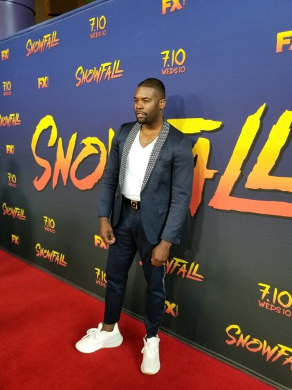 """Snow Fall Season 3"" - Amin Joseph"