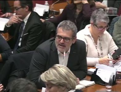 Intervention en Commission des Affaires Culturelles