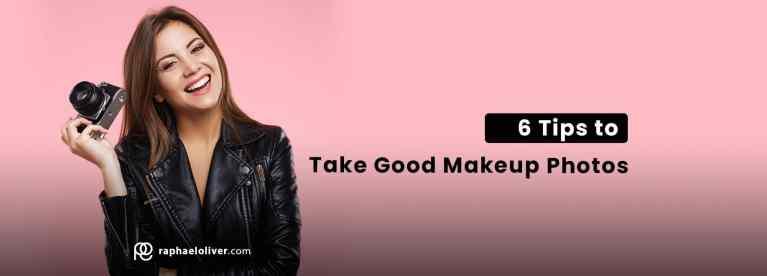 06 tips to take good makeup photos