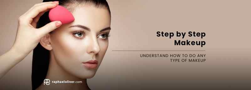 step by step makeup