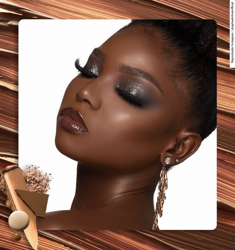 How to setting dark skin after contour