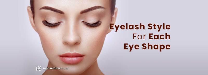 How To Choose The Eyelash Style For Each Eye Shape