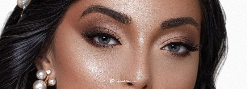 Eye makeup for brides | Photo and Makeup: Raphael Oliver