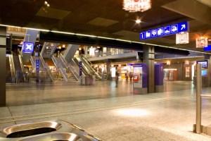 Langzeitbelichtung Bahnhof Bern