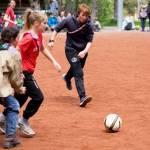 Fussballturnier im  Bezirks Pfingstlager Kandersteg der Pfadi Berner Oberland