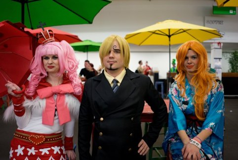 Bilder Fantasy Basel Fantasy-Convention mit Cosplay, Merchandise, Gaming, Filmen...