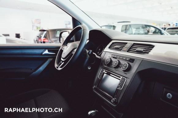 Interieur VW Jetta in der Amag Wankdorf