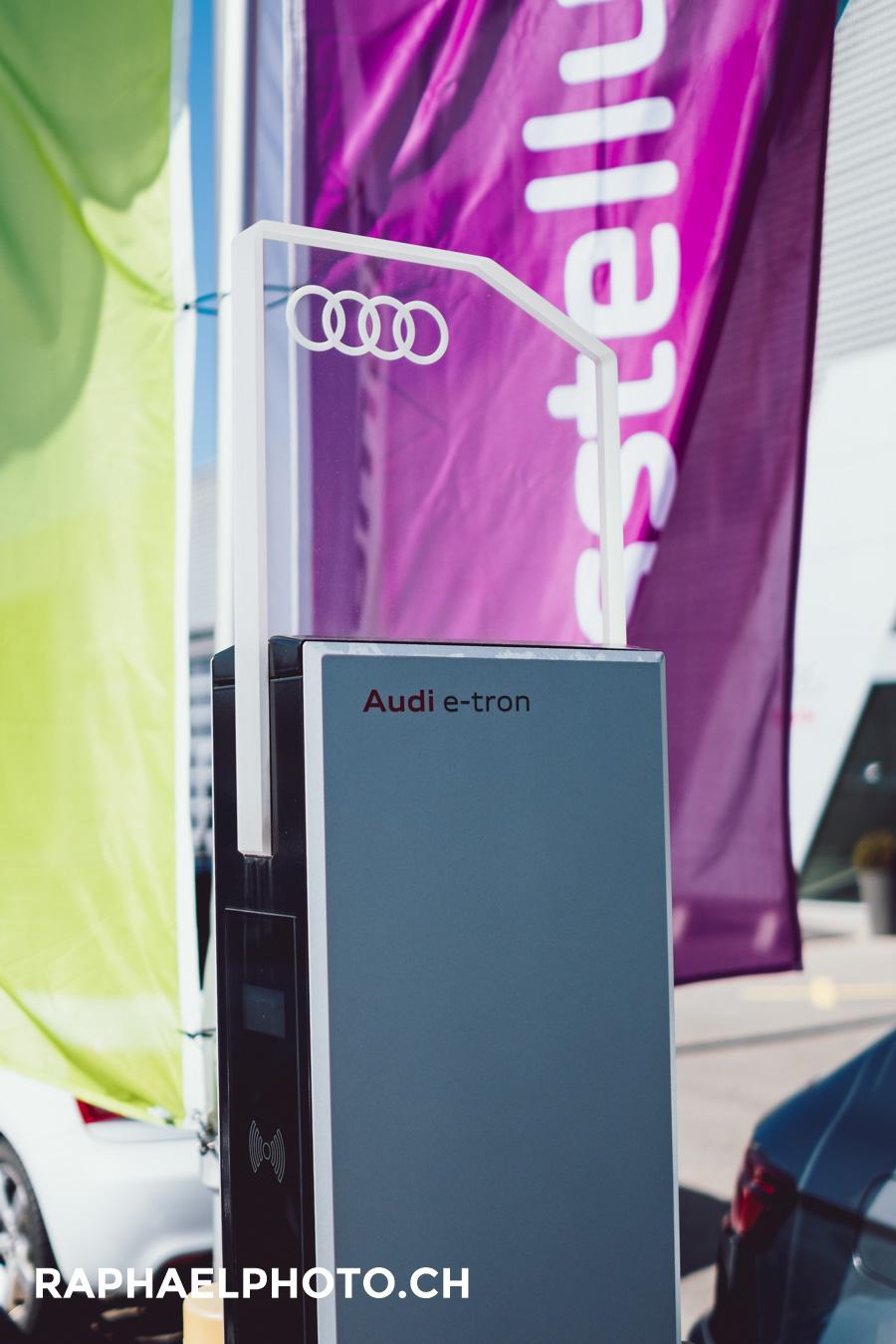 Ladesäule Audi Bern