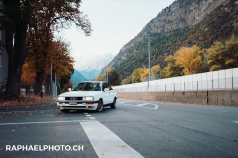 Audi 90 Shooting Visp-10
