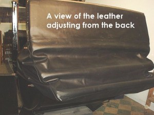 Another view of the leather