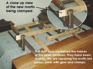 Repairing window frames
