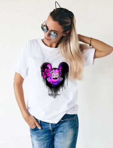 T-shirt Femme Originaux, T-shirt Femme Mickey, T-shirt Raphael Setiano.