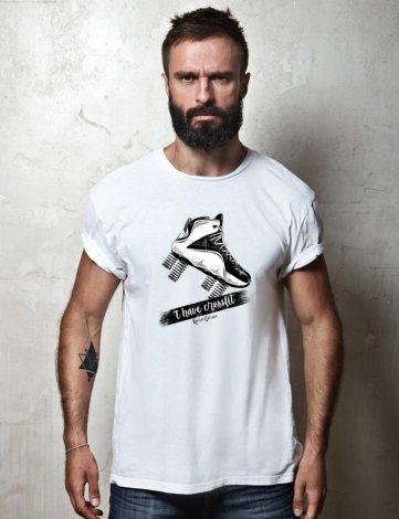 Tee-Shirt Basket Personnalisée, T-shirt Créateur Humour,T-shirt Homme CrossFit Rogue.