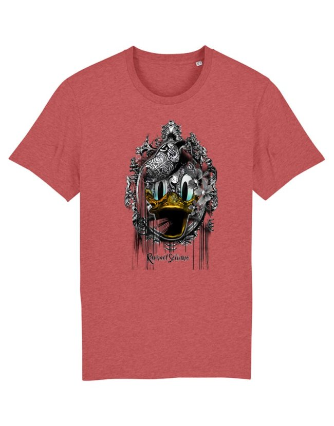 Tee-Shirt Homme Mickey Créateur, T-Shirt Raphael Setiano, T-Shirt Mickey Homme Vintage